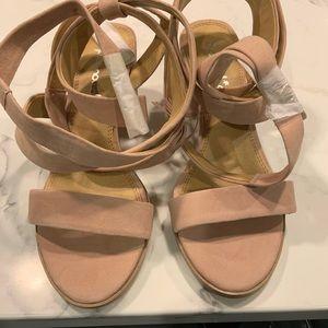 Splendid Shoes - Splendid Janet Pink Block Heel Sandals